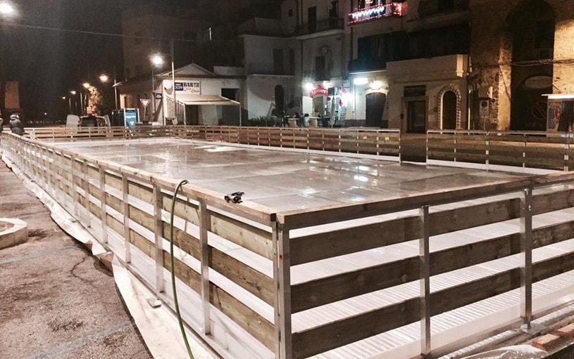 pista di ghiaccio