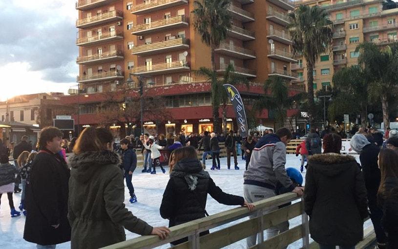 pista ghiaccio ladispoli